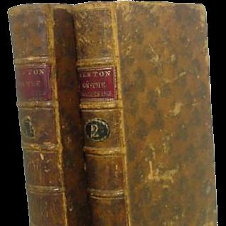 Two Volume Newton on The Prophecies Eight Edition M,DCC,LXXXVII