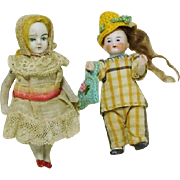 All Bisque Tiny Dolls