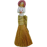 "China Half Doll Brush ""Just Too Sweet"""