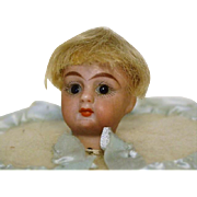 Mignonette French Glass Eye Doll Head