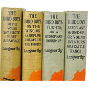 1st Ed. The Bird Boys 4 of 5 Books in Series, John Luther Langworthy