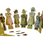 McLaughlin's XXXX Coffee 1894  Advertising  Paper Dolls