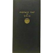 W.D. Turnbull Highway Map of Ohio June, 1918