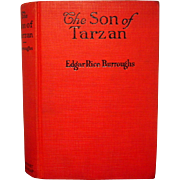 The Son of Tarzan, G & D 1927. RARE DJ