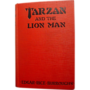 Tarzan and the Lion Man, Burroughs, Grosset & Dunlap 1934