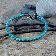 Turquoise Summer Bracelet Gold Filled