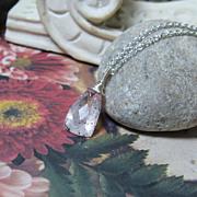 Lepidocrosite Gemstone Solitaire Necklace