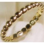 Size 6 Stacking Ring 14K Gold