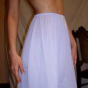 Vintage 1960 Lorraine VIOLET Half Slip NEW NWT NOS Size