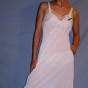 Vintage 1950 Swing Line White Full Slip NEW NWT NOS Size 34
