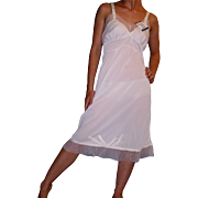 Vintage 1950 Swing Line White Full Slip NEW NWT NOS Size 34