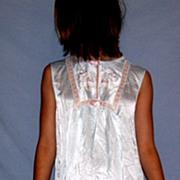 Vintage 1970 Barbizon Satin Remarque  Nightgown NWT NOS NEW Size small / medium