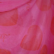 Vintage 1960 Pink Red Nightgown & Cape  hearts &love Sheer Madness by Cira size medium