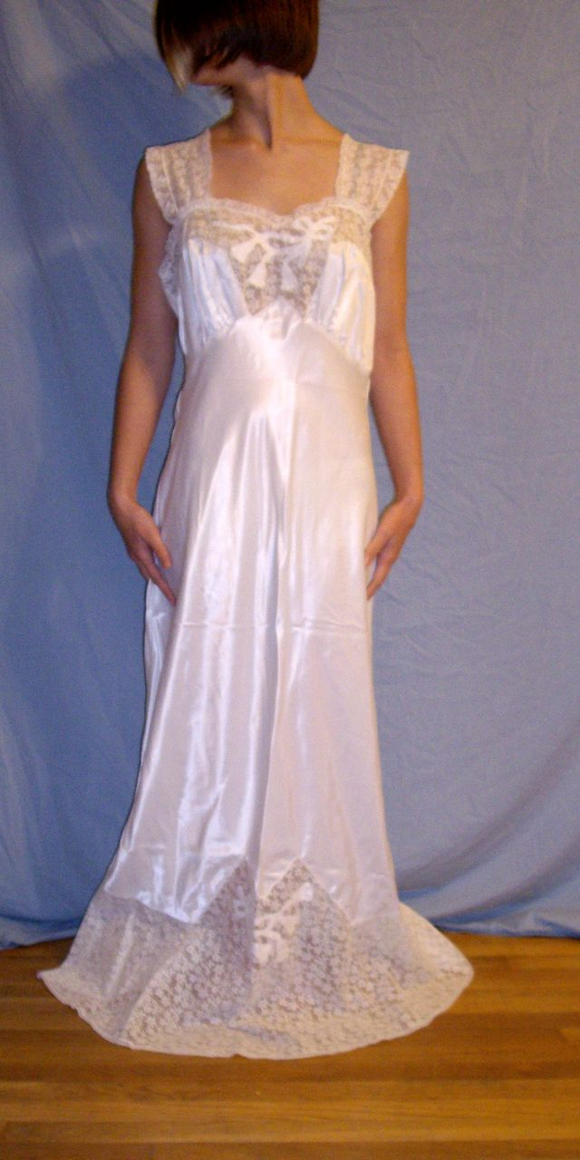 White Nightgowns Wedding. 21 best unmentionables images on pinterest ...