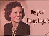 Miss Jewel's Vintage Lingerie