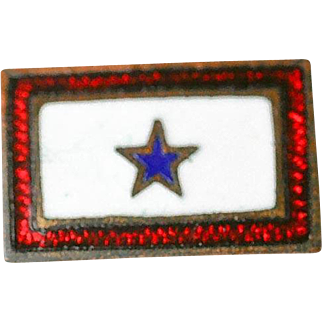 WWII Era Son in Service Military Patriotic Pin