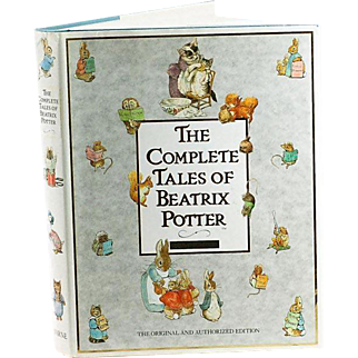 The Complete Tales of Beatrix Potter F. Warne & Co. 1989 Hardcover Book 383 pages