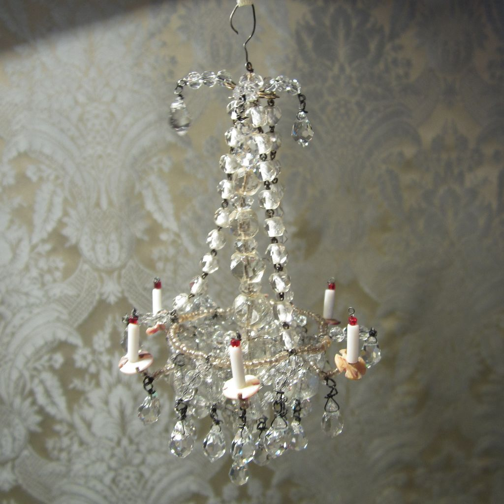 Dollhouse chandelier light catalogue light ideas how to make a dollhouse miniature crystal chandelier chandelier dazzling crystal chandelier antique original for doll arubaitofo Image collections