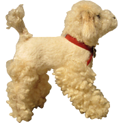 Frisky Fur Poodle Dog for Doll Companion - Vintage