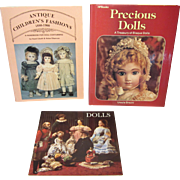 3 Vintage Reference Books For Collecting and Costuming Dolls