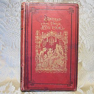 Antique French Book - By the Editor of La Poupee Modele, Circa 1876