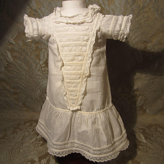 Presentation Chemise for French Bebe - Antique Original