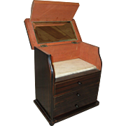 Handsome Vanity Top Commode for French Fashion