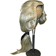 Scarce Original Marquis Styled Wig for French Bebe