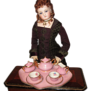 Miniature Pink Tea Set by Limoges