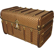 Fine French Small Trunk - Antique and Fancy