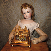 Splendid Antique Miniature Ormolu Reliquary For French Fashion