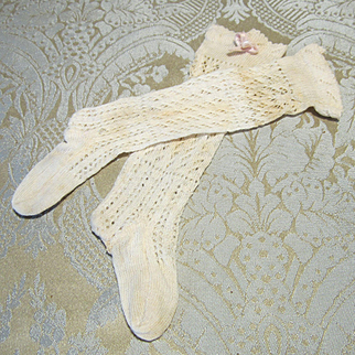 Antique Stockings for Larger French Fashion