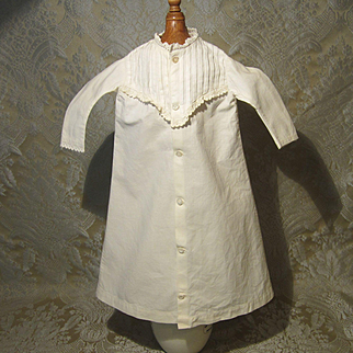Creamy Cotton Nightgown for French Fashion - Antique