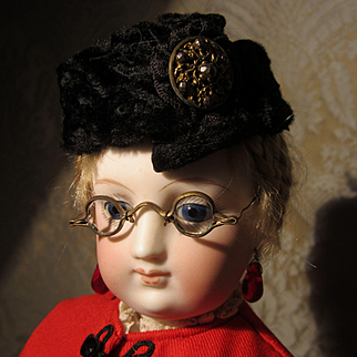 Antique Glasses for French Fashion Doll