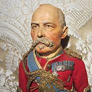 Superb Portrait Doll - King George V, Circa 1920's