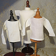 French Fashion Whites: Chemise and 2 Blouses - Antique