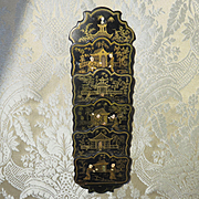 Letter Rack - Chinoiserie - Antique Miniature - French Fashion