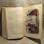 """La Poupee Modele"" Bound Volume of 1867 - 69 Issues"