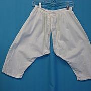 Antique bloomers pantaloons Victorian era