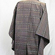 Vintage Japanese kimono man's Silk mid century Japan  B2084