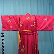 Vintage kimono Japanese early 20th Century