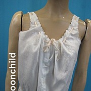 Vintage Edwardian chemise corset cover early 20th century