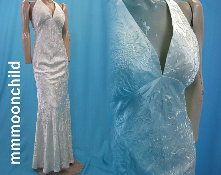 Vintage 1990s evening gown Designer Carmen Marc Valvo