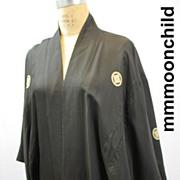 Vintage kimono Japanese all silk