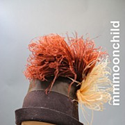 Vintage hat cloche 1920s w ostrich feathers