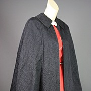 Vintage evening cape 1940s Ultimate drape