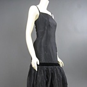 Vintage classic little black Cocktail Dress PL7