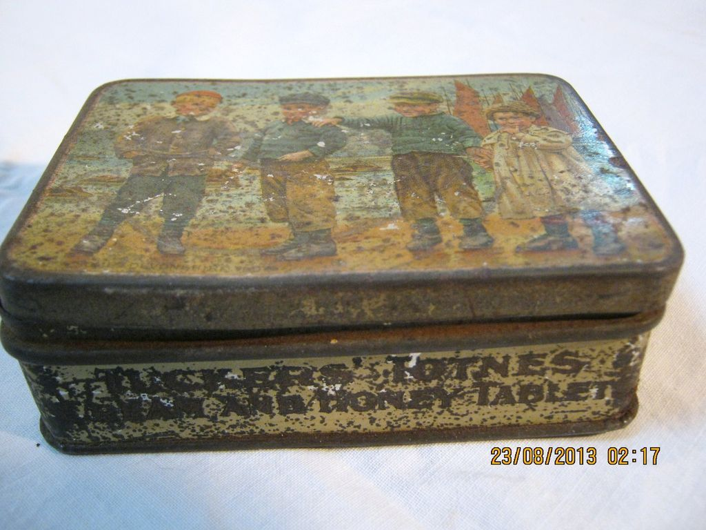 Tucker & Sons TOTNES 'Cream & Honey Tablets' Sweets Tin