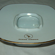 QANTAS Yamato Fine China Promotional Ashtray - Circa 1960's-70's