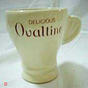 Ovaltine Advertising Mug